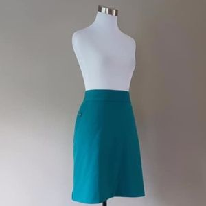 Size 2X Golf Skirt Turquoise Plus Size